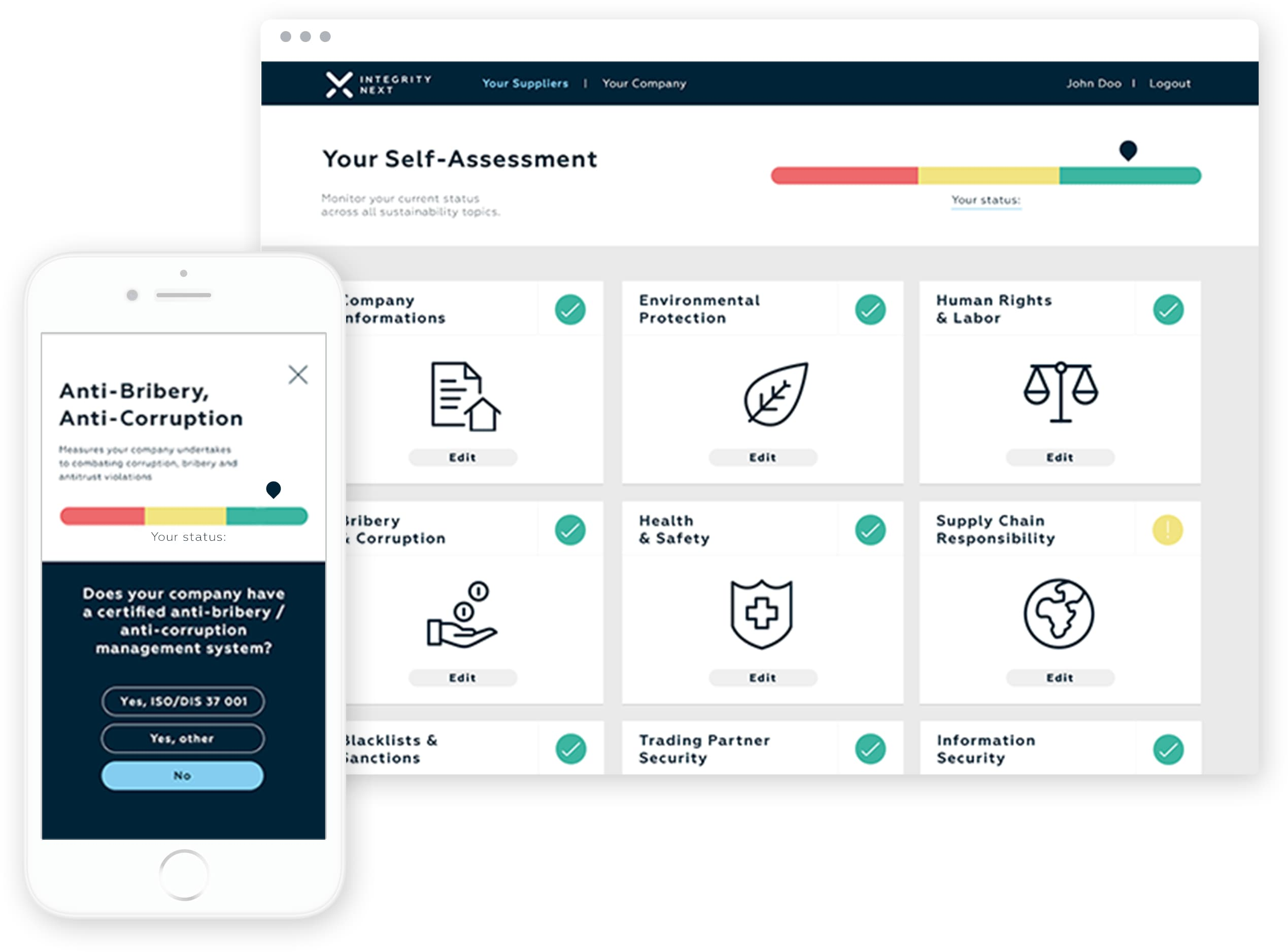 Screenshot Compliance Assessments